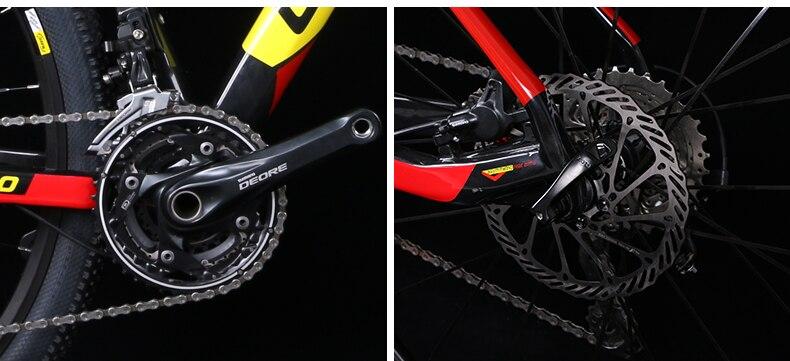 HTB1jyPXXf2H8KJjy0Fcq6yDlFXaW - 27.5/29inch carbon fiber mountain bicycle Pneumatic shock 30/ 33 velocity carbon fiber body light-weight Cross nation weapon MTB