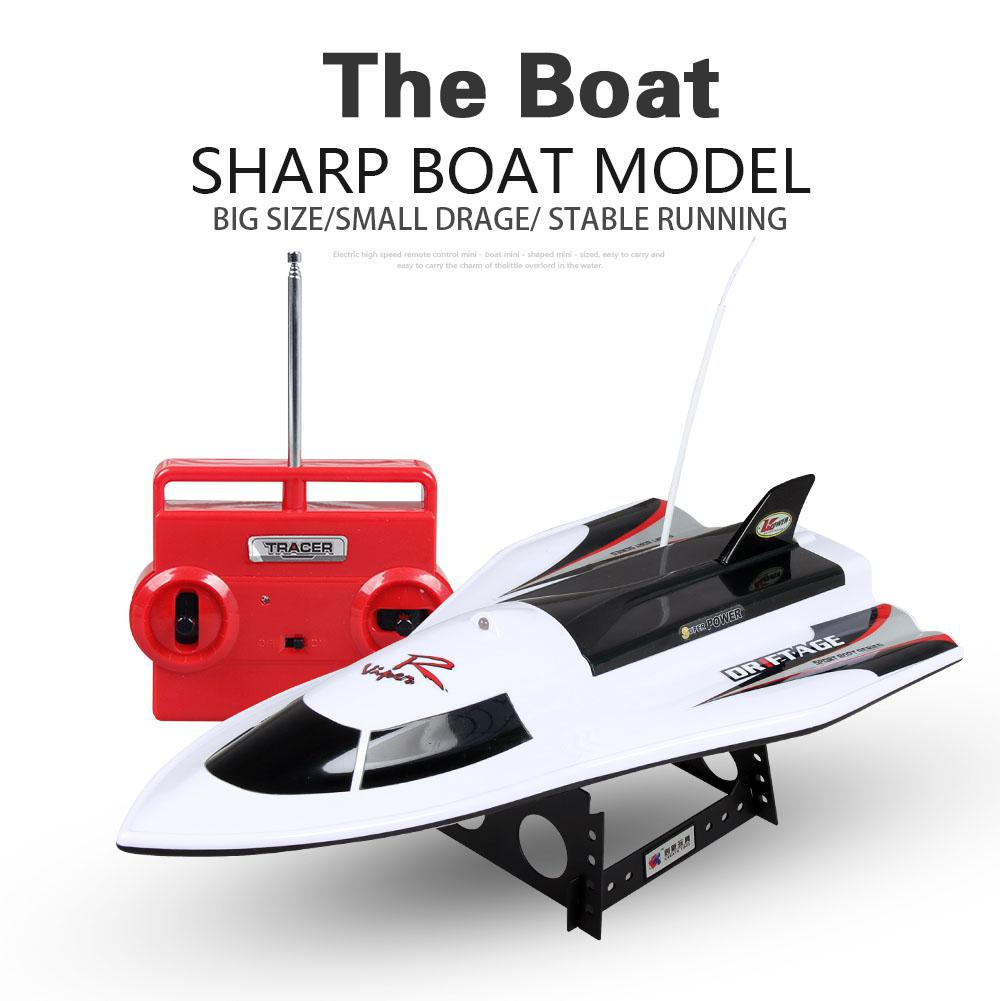 RCtown CT3352 Waterproof 4 Channel Remote Control Ship Speed RC Boat Strong Power Rechargeable High Speed