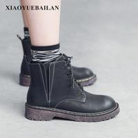 2017 New Retro Casual Boots With Thick Children Fall Short Warm Breathable Wear