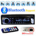In-Dash 1 DIN 12 V Carro sintonizador Estéreo bluetooth Rádio FM MP3 Leitor de áudio USB/SD MMC Porto Porto de sintonizador de rádio Do Carro do bluetooth ISO