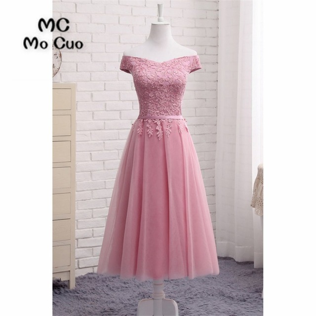 Fashion 2018 Vintage Homecoming dress Short Sleeves Cocktail party dress  Off Shoulder Party Dress short homecoming dress d29035be9