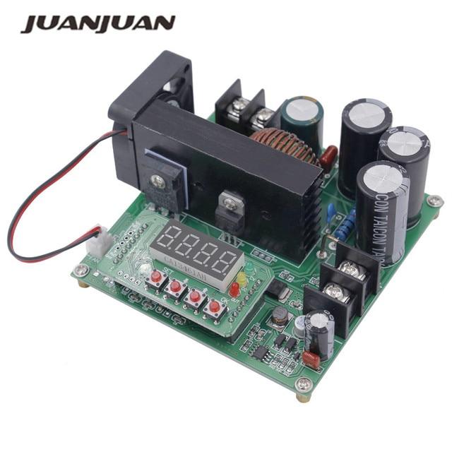 B900W Регулируемый boost модуль постоянного напряжения Текущий Модуль трансформатора регулятор Вход 8-60 В до 10-120 В 900 Вт скидка 39%