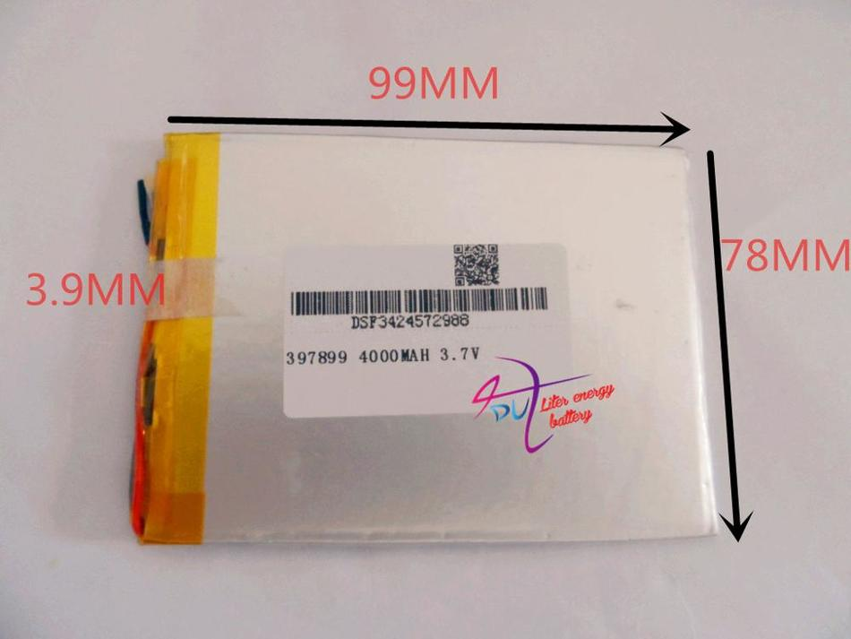 3.7 V <font><b>4000</b></font> <font><b>mah</b></font> 7 inch song mei G2 tablet MID quality products lithium-ion Tablet polymer battery 39789 image