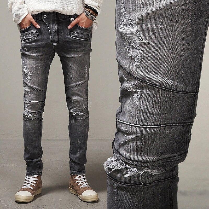 Mens Grey Jeans Promotion-Shop for Promotional Mens Grey Jeans on ...