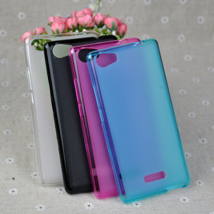 Soft TPU Pudding Cases Qmobile Noir Z10