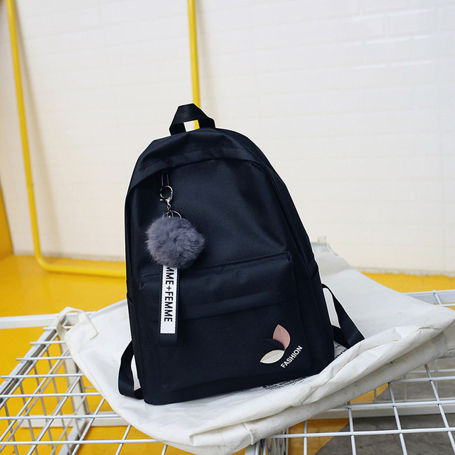 Fur Ball Girl Backpack