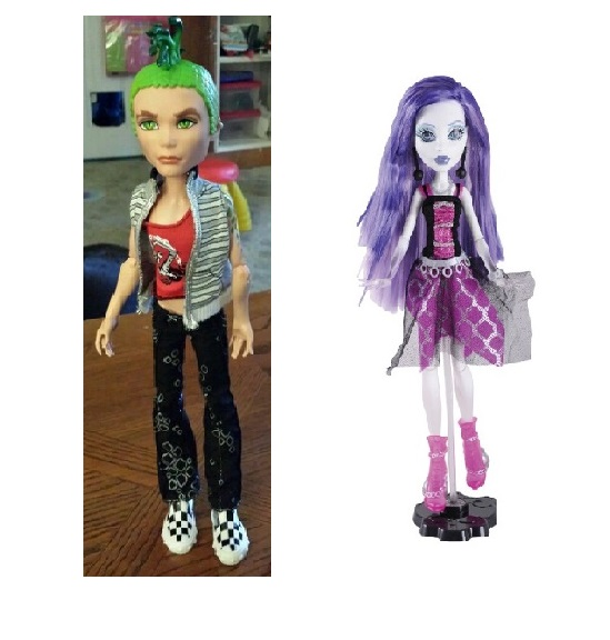 Classic Monster doll toys Ghoul's Alive Deuce Gorgon,Spectra Vondergeist,Toralei Original Doll high quality Toy to Girl