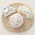 Sólo Lindo 100% Algodón Recién Nacido (0-3 M) Bebé Gorras y Sombreros Accesorios Patrón de Dibujos Animados Infantil sombrero de 3 Colores