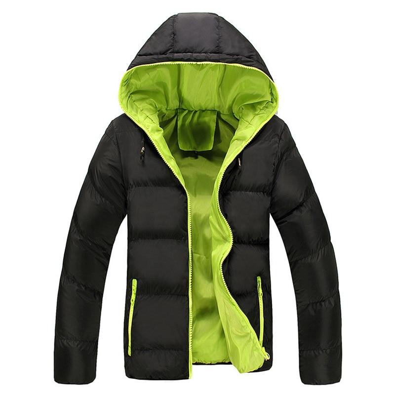 HOWL LOFTY 5XL Men Winter Casual New Hooded Thick Padded Jacket Zipper Slim Men And Women Coats Men Parka Outwear Warm