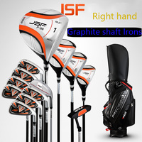 Genuine PGM New Golf Cue Kit Complete Full 13Clubs And Bag Beginner Men Right Hand Clubs