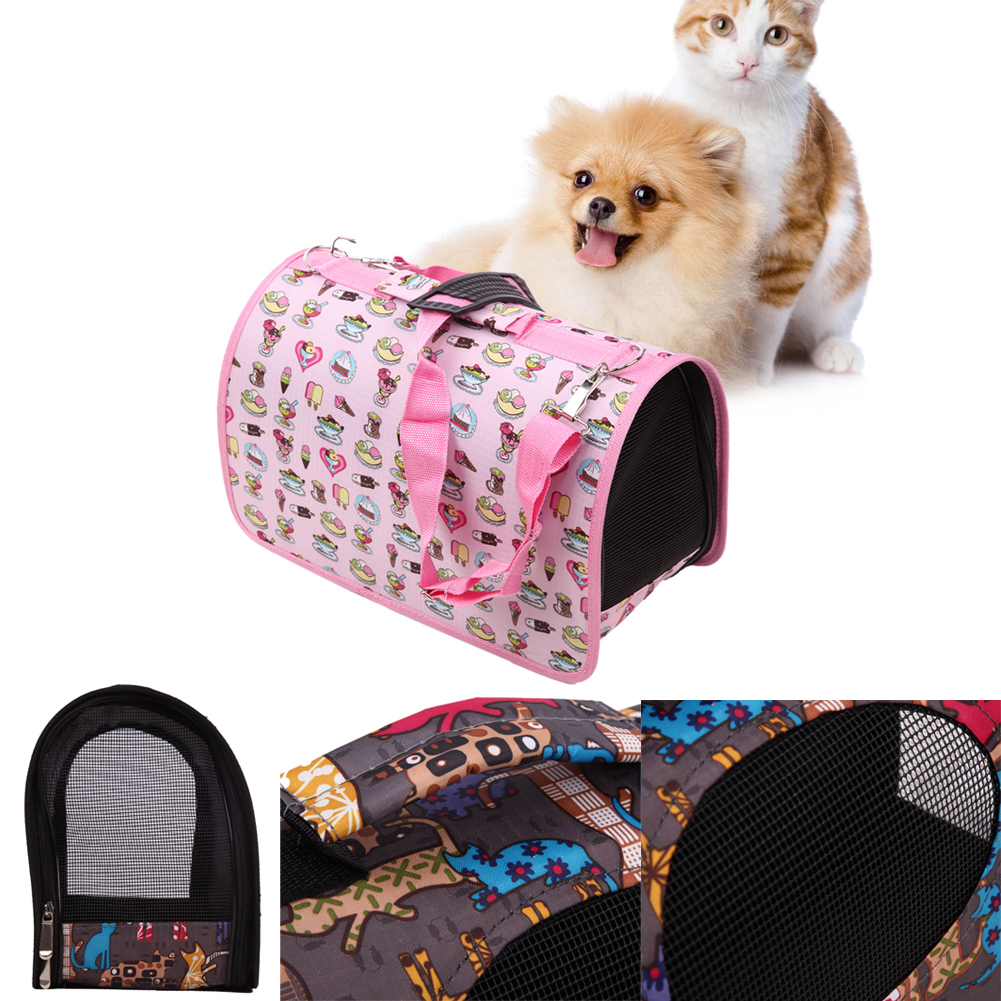 Portable Pet Comfort Travel Tote Shoulder Bag Crate Cage House Kennel Pet Cage Breathable pet carrier bag carry for dogs cats