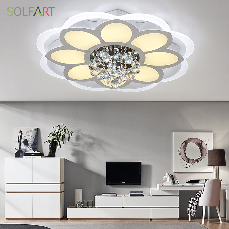 Modern Living Room Ceiling Lamps Led Ceiling Light Lampe Solairefor Bathroom Abajur Luminarias For Ceiling Light Fixtures