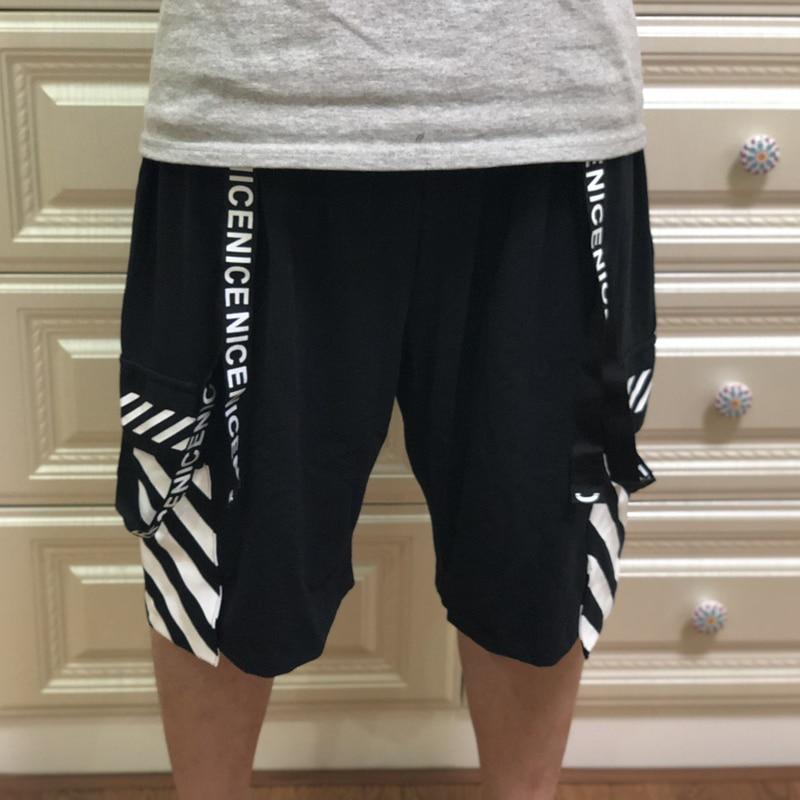Men's Clothing Free Shipping Plus Size Oversized European Version Male Hiphop Loose Short Trousers Hip Hop Men Shorts 6xl 7xl 8xl Hiphop