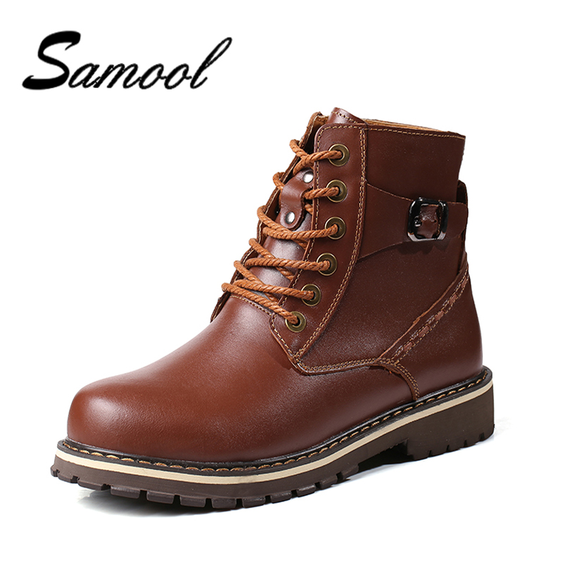 Men Genuine Leather Casual Shoes Leather Brand Men Shoes Work Safety Boots Plush Designer Men Flats Men Work & Safety Boots Ix5 amaginmni men genuine leather casual shoes leather brand men shoes work safety boots designer men flats men work