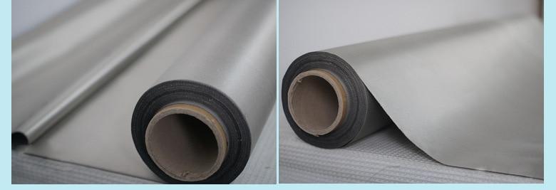 RFID digital information protection fabric 10 sq m silver emf shielding fabric for DIY