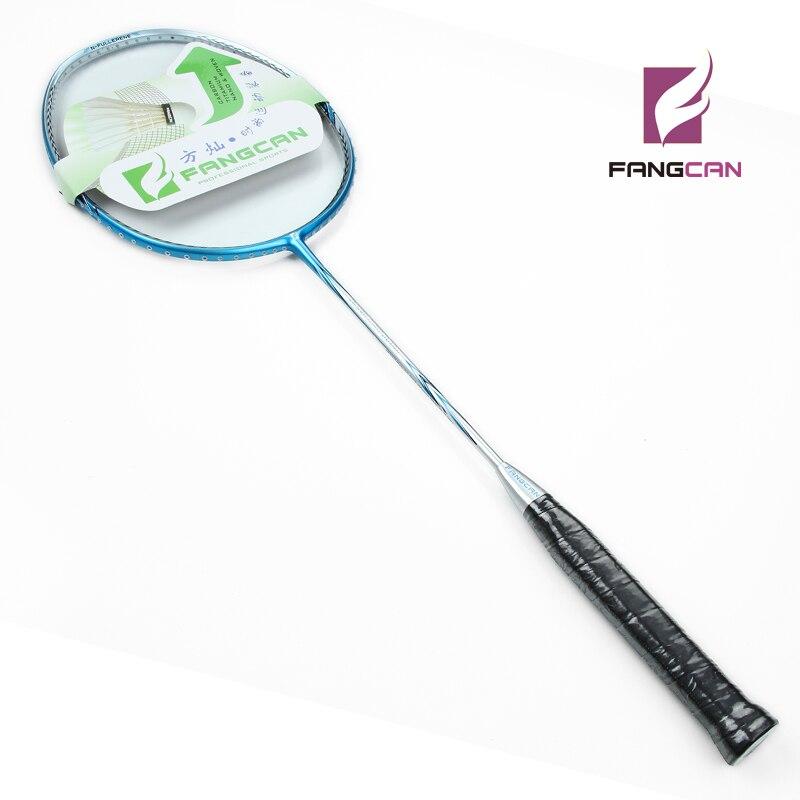 2 шт. FANGCAN Nano Ray 9900 100% углерода Бадминтон ракетки Одна деталь-оптический для оборонительных Тип игроков