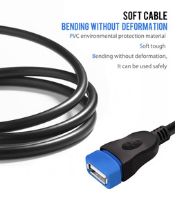 Image 4 - VOXLINK USB 2.0 Extension Cable  For PC Laptop Male to Female USB Charging Sync Data Extend Cable 1M 1.8M 3M 5M
