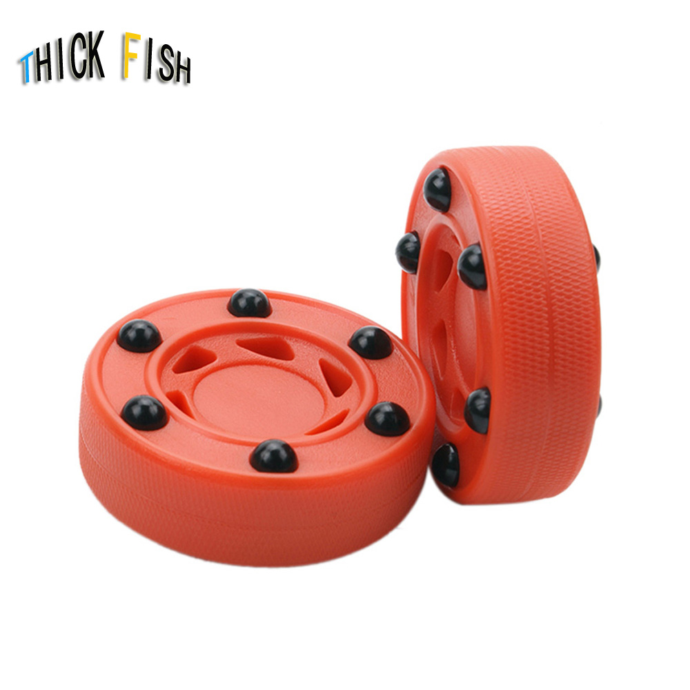2 Piece Ice Hockey Puck Indoor Roller Field Hockey Ball Good Quality Child Ice Hockey Balls Sports Equipment