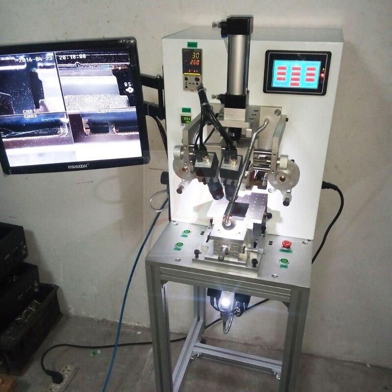 LY 9010 Semi-automatique contrôle de l'écran tactile universel câble flexible câble plat double alignement impulsion presse à chaud machine pour Apple Samsung