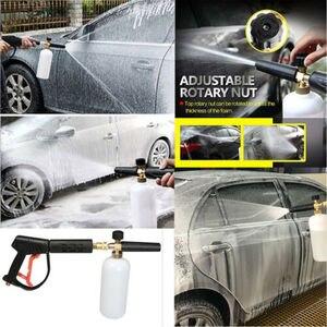 Image 5 - Foam Cannon Lance profesjonalne narzędzie do myjni samochodowej i 5 sztuk sprej spryskiwacza końcówki do dyszy