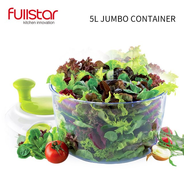 Fullstar Salad bowl Jumbo Salad Spinner Kitchen Tools kitchen accessories  for vegatable Mixer Salad gadgets food helper 2