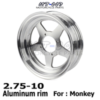 Motorcycle Monkey Bike MKE005 10 inch wheel Rim 10 rim kit for Monkey motorcycle aluminum alloy rim felly 2.75 10