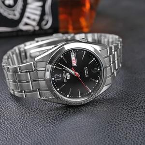 Image 2 - Seiko Horloge Mannen 5 Automatische Horloge Top Merk Luxe Sport Mannen Horloge Set Waterdichte Mechanische Militaire Horloge Relogio Masculinosnk