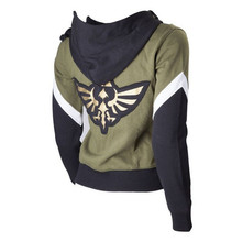 Game The Legend of Zelda Hoodie Cosplay Costume Anime Black Sweatshirts Men Women College