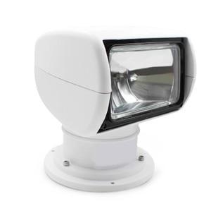 Image 5 - Sterowanie zdalne szperacz Spotlight Marine Boat ciężarówka samochodów 12 v 24 v wyszukiwanie lampa dla jacht żarówki halogenowe 100 W