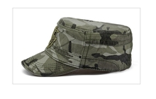 Tactical Army Camouflage Adjustable Flat Cap Hat
