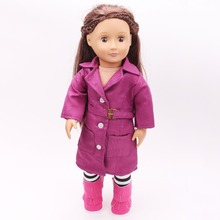 2016 new 18 inch American girl dolls clothes skirt suit children font b toy b font