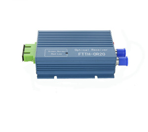 Image 3 - CATV FTTH Receiver AGC Micro SC APC Duplex Connector with 2 output port WDM for PON FTTH OR20 CATV Fiber Optical Receiver