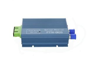 Image 3 - Catv ftth 수신기 agc micro sc apc 듀플렉스 커넥터 (pon ftth or20 catv 광섬유 수신기 용 2 출력 포트 wdm 포함)