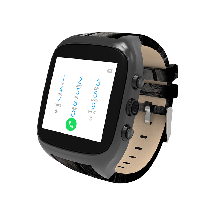 X01S 2.0M HD Camera Quad Core Smartwatch 1G+3G SIM Card Android 5.1 WIFI Bluetooth Internet GPS Waterproof Wearable Smart Watch