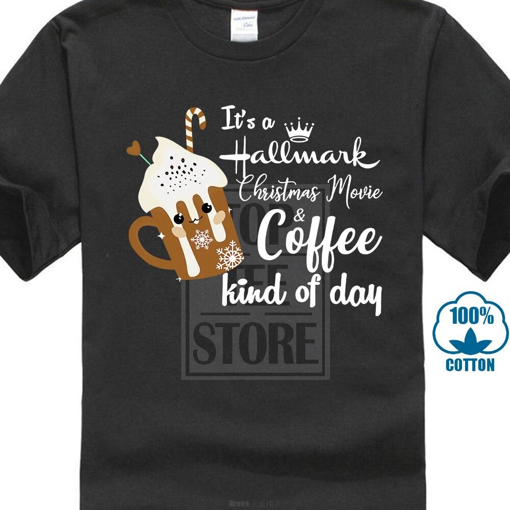 Hallmark Christmas Shirt.Us 8 79 12 Off Hallmark Christmas Movie Coffee Kind Of Day Vintage Shirt Hallmark Movies Raglan In T Shirts From Men S Clothing On Aliexpress