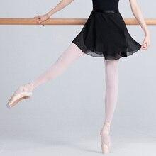 High Quality Adult Chiffon Ballet Dance Tutu Skirt Women Girls Gymnastics Skate Wrap Teacher Training Skirts