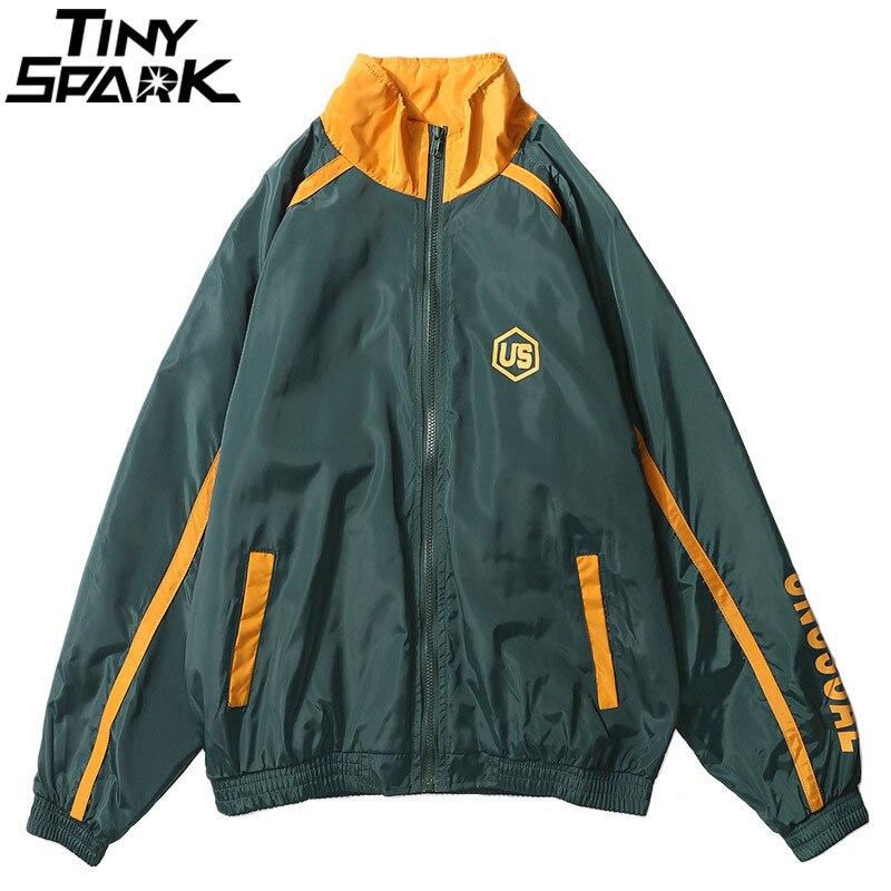 BOSIBIO 2018 Fashion Men Jean Jacket Loose Style Male Hooded Denim Jacket Streetwear Bomber Jacket and