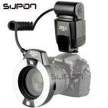 VILTROX JY-670N Macro je-TTL Anneau Flash Light Speedlite pour Nikon DSLR Caméra Cavité Buccale Dents Ornements Close-up de Tir