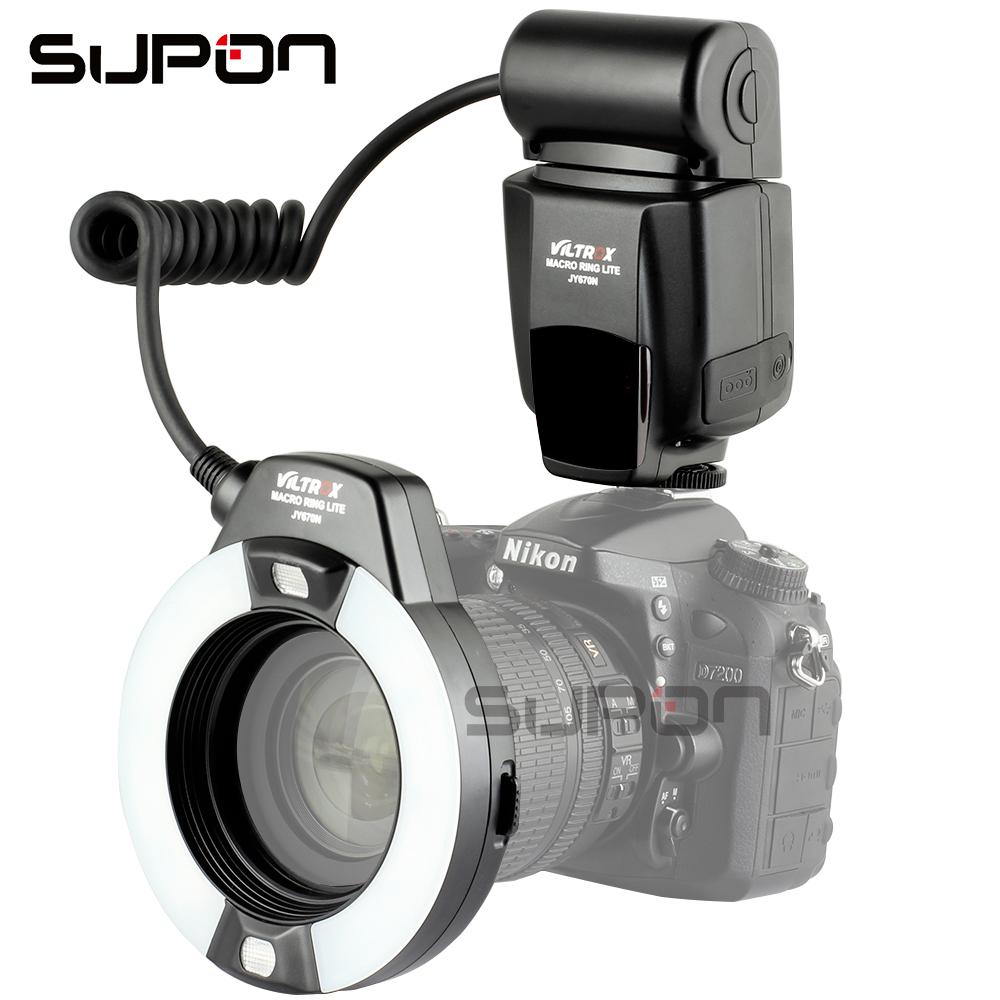 Prix pour VILTROX JY-670N Macro je-TTL Anneau Flash Light Speedlite pour Nikon DSLR Caméra Cavité Buccale Dents Ornements Close-up tir