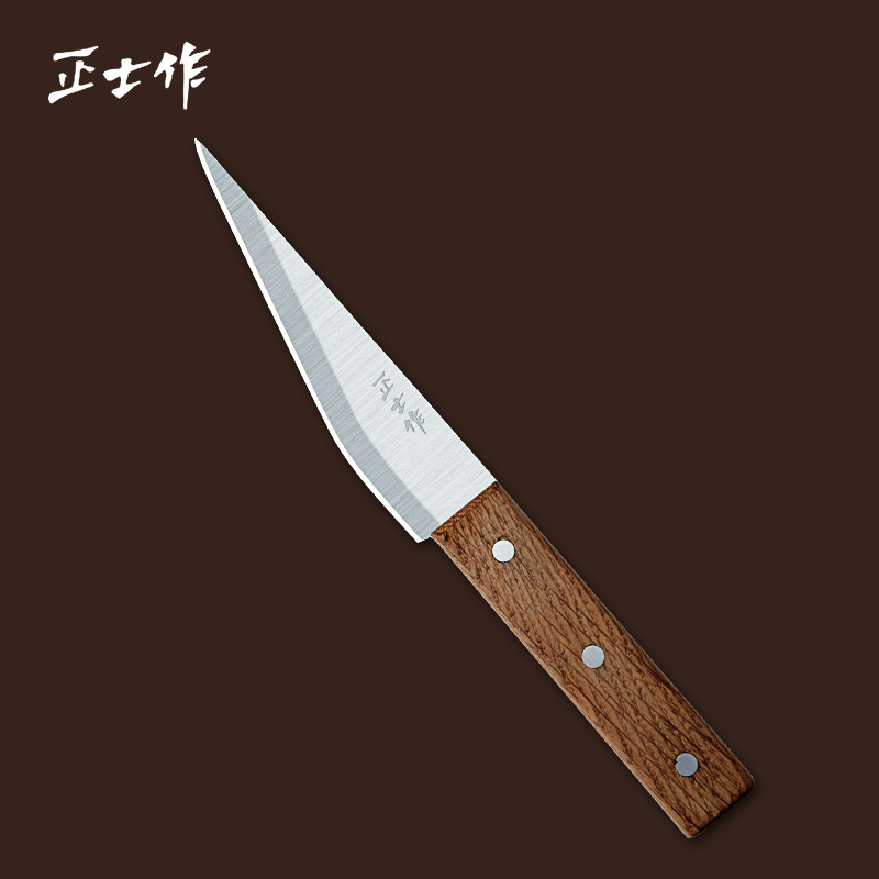 kitchen font b knife b font with wooden handle multifunctional fruit slaughter split eviscerate Chef not