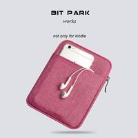 Bit parkı kollu 6-inch kılıfı çanta için kindle paperwhite/kindle voyage/all-yeni kindle/kindle oasis e-okuyucu