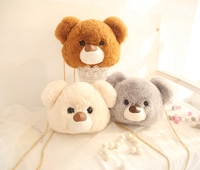 Plush Inclined Shoulder Bear Bag Kids Bag Stuffed Toys For Children Girlfriend Gift