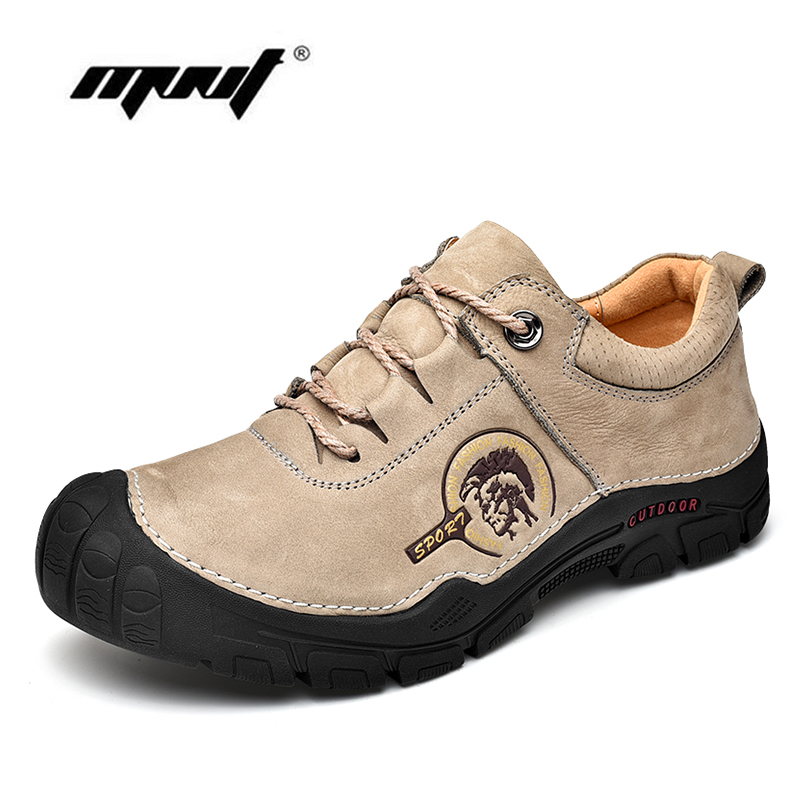 Best Quaity Handmade Men Casual Shoes Breathable Lace Up Outdoor Flats Shoes Anti skid Rubber Sole Shoes Men in Men 39 s Casual Shoes from Shoes