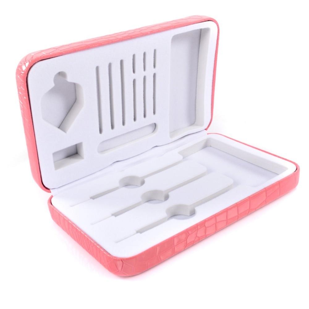 CUESOUL Proffessional Pink Dart Case,Pink Dart Box For Steepl Tip Darts,Soft Tip Dart,Tungten Darts