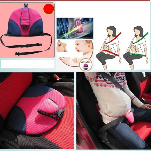 Us 32 75 22 Off Youwinme Women Car Auto Safe Seat Cushion Belt For Pregnant Safety Protection Maternity Seatbelt Pad In Seat Belts Padding From
