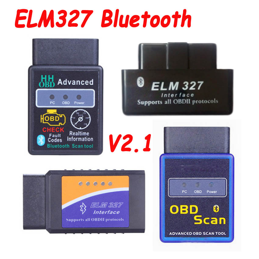 2019 Newest ELM327 <font><b>ELM</b></font> <font><b>327</b></font> V2.1 Car Code Scanner Tool <font><b>Bluetooth</b></font> Super MINI ELM327 OBD2 Suppot OBD2 Protocol More Types Option image