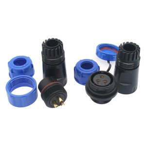 Водонепроницаемый док-разъем SP2110 SP2111, 2-контактный 3pin 4pin 5pin 7pin 9pin 12pin IP68 разъем кабеля питания SP21