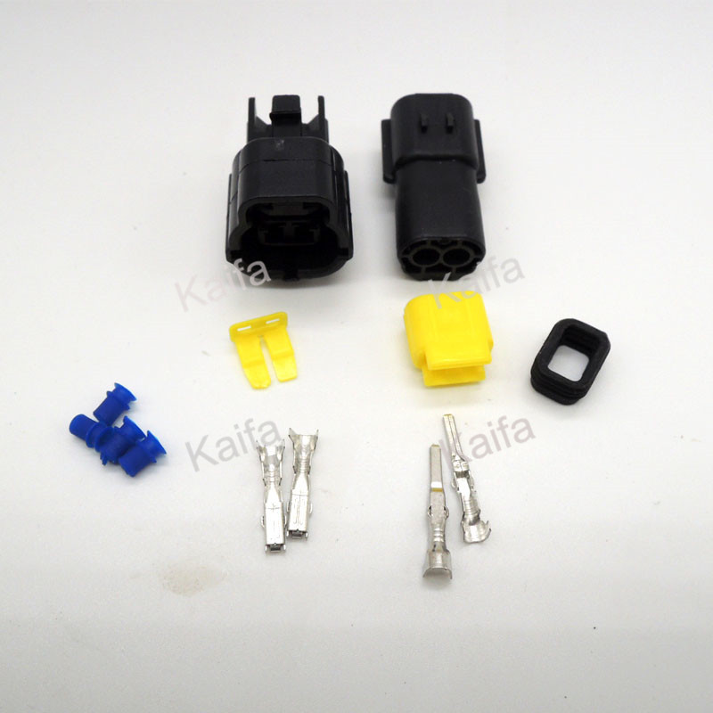 1 sets 2/3/4/6/8/10 Pin Way Waterproof Wire Connector Plug Car Auto Sealed Electrical Set Car Truck  connect акустические кабели atlas hyper bi wire 2 to 4 5 0m transpose z plug gold
