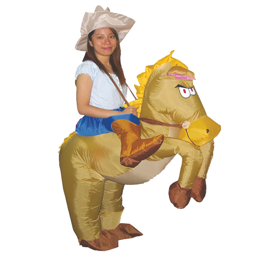newest inflatable cowboy pony