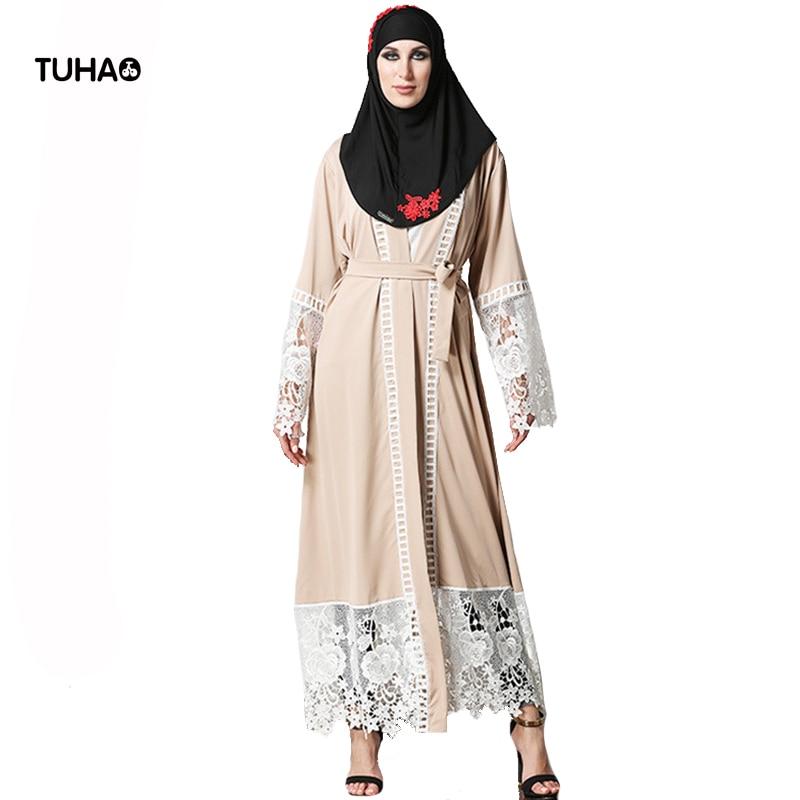 TUHAO Autumn Women Cardigan Tunic Lace Appliques Fashion X-Long 5XL Plus Size   Trench   Coat Kimono Tops Casual Outerwear TB1528